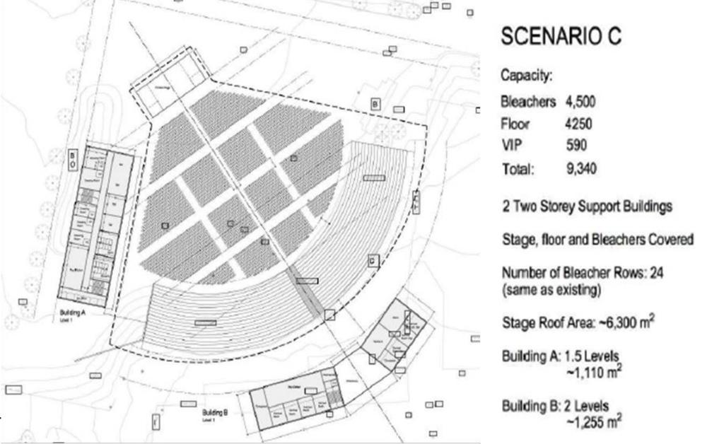 pne amphitheatre new design