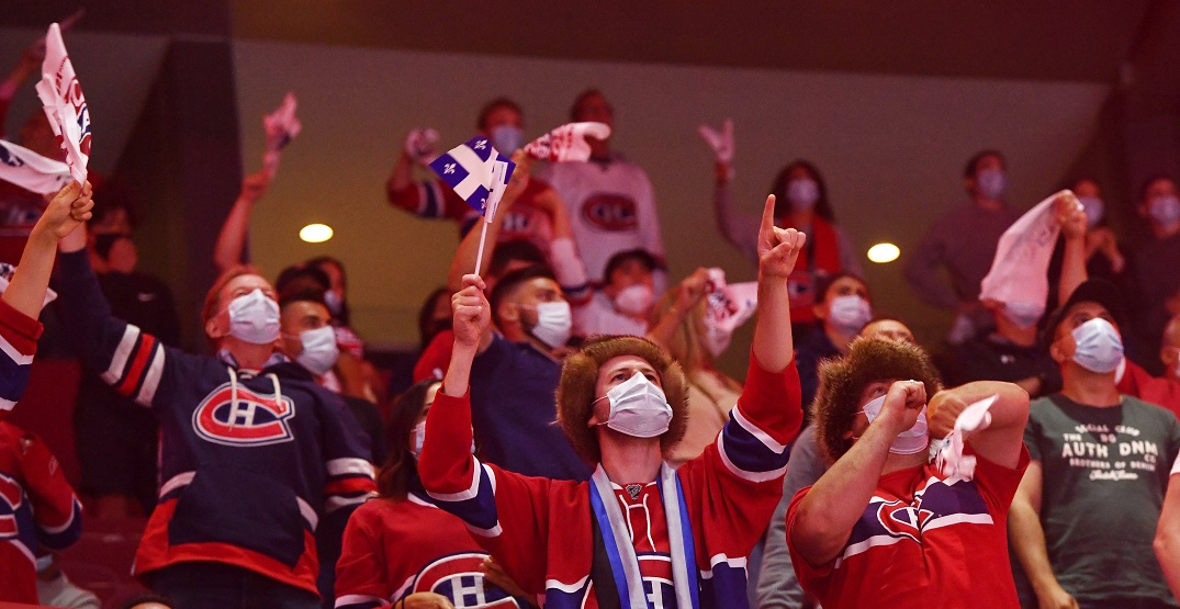 Montreal police have Bell Centre on lockdown after Canadiens big win