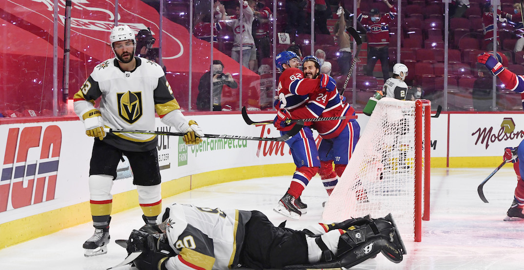 Canadiens heading to Stanley Cup Final after upsetting Vegas