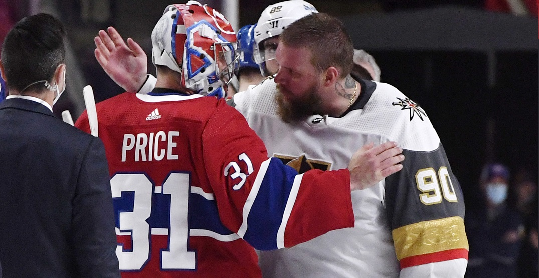 Vegas goalie Lehner congratulates Canadiens in classy message minutes after losing