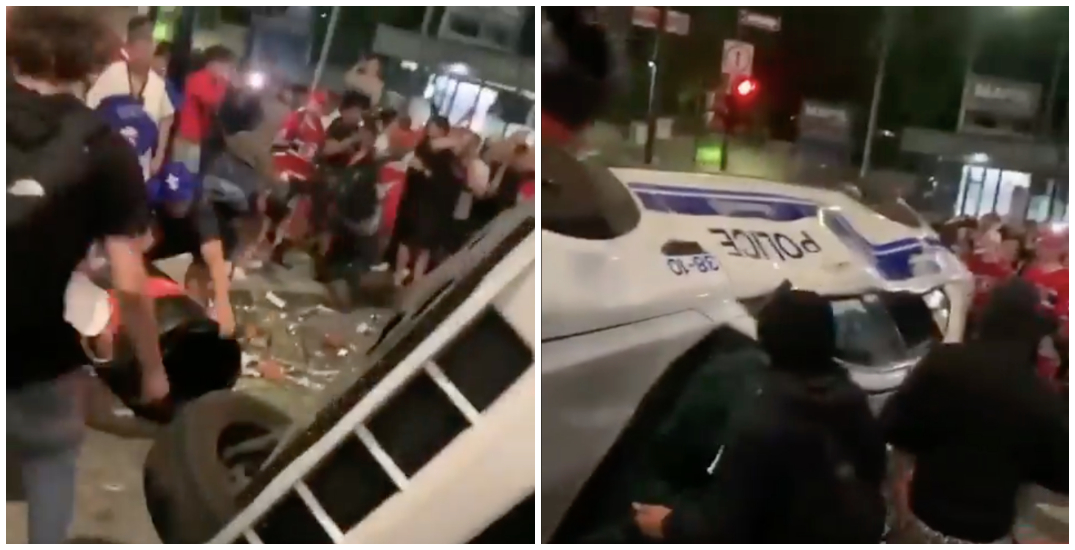 15 arrested in Montreal following Canadiens' win celebration