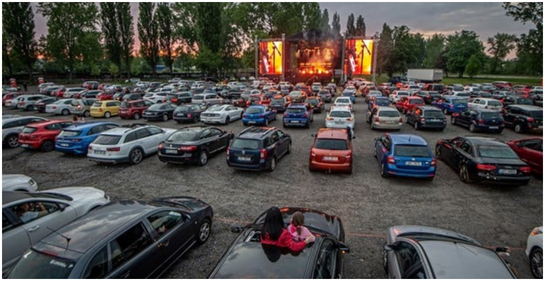 Grey Eagle Drive-In announces lineup of doubleheader movies and tribute concerts