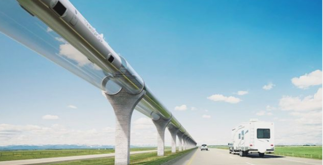 Calgary to Edmonton in 45 minutes, 140K jobs could be created through ultra-high-speed transit project