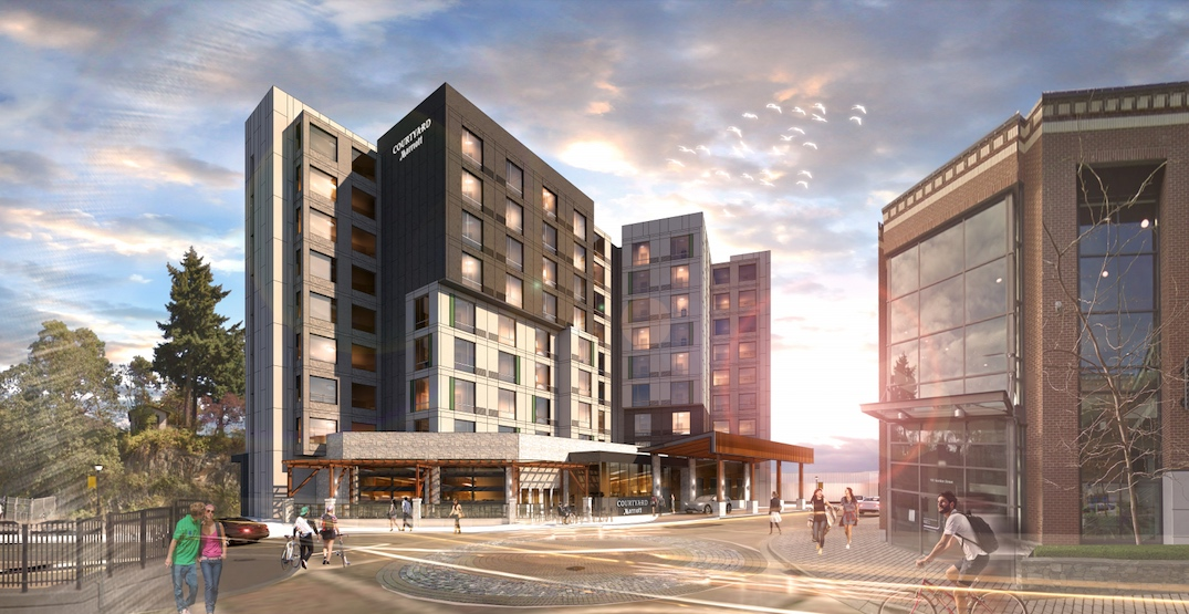 New Nanaimo Marriott hotel using Vancouver firm's green construction method