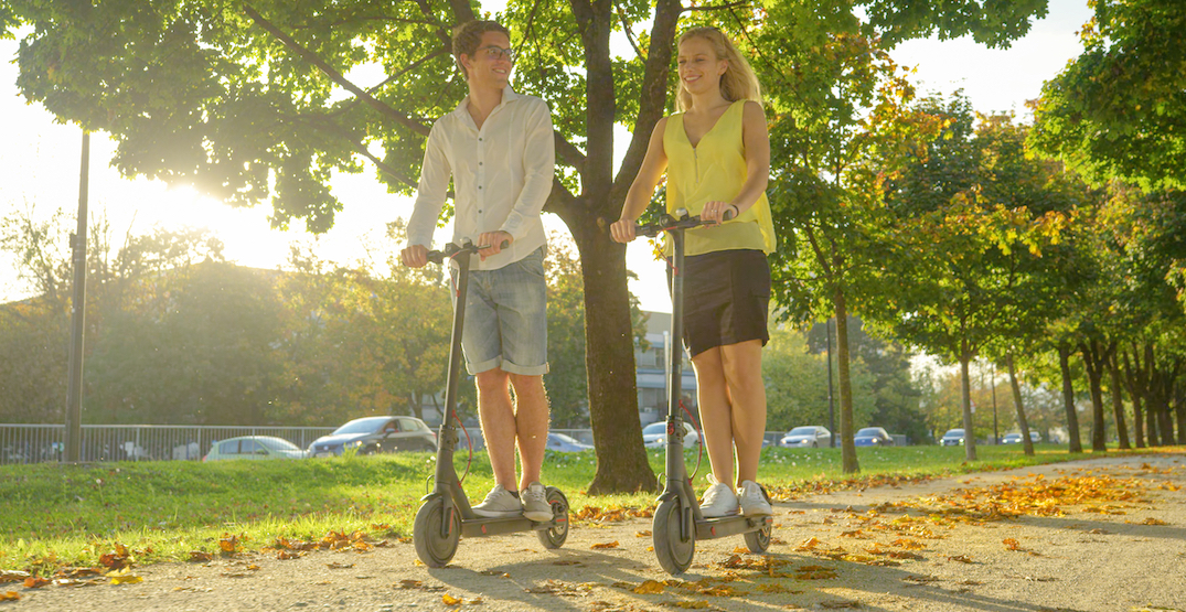 Electric scooters can now be used on Vancouver's local streets and bike lanes