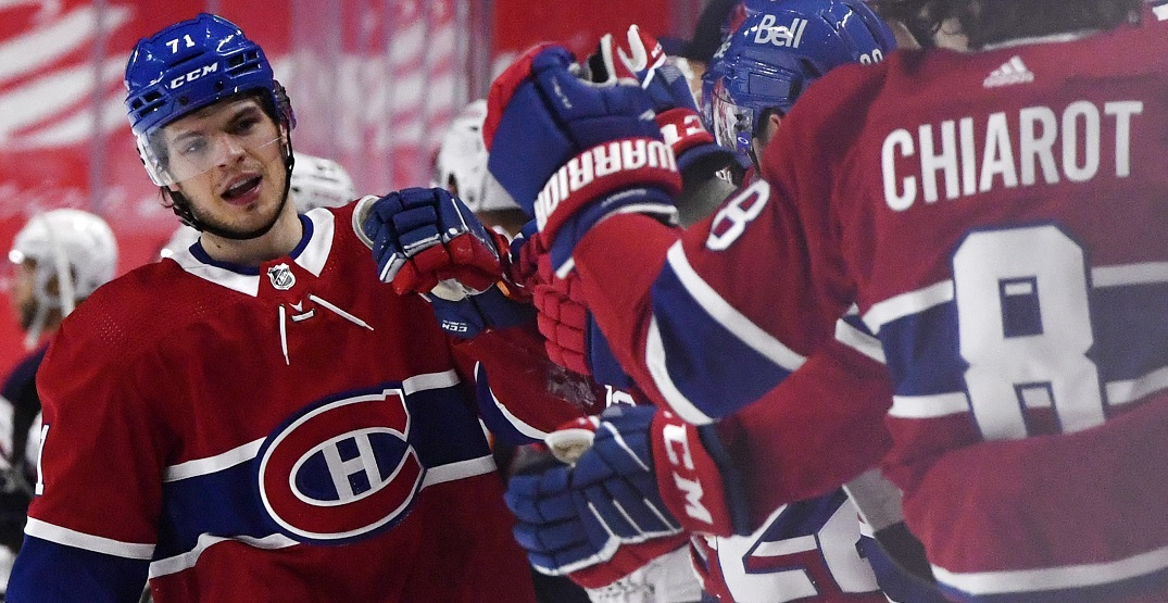 Jake Evans might finally be returning to the Canadiens' lineup tomorrow
