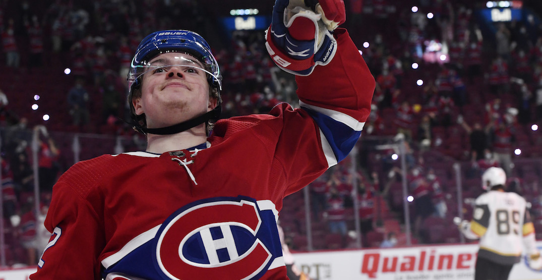 Oddsmakers give Canadiens' Caufield best chance to win Calder Trophy