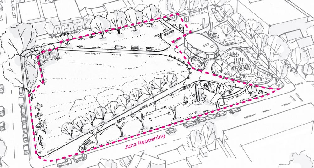 oppenheimer park june 2021 reopening