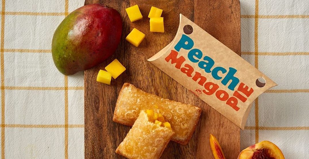 Jollibee is giving out free Peach Mango pies to celebrate new ordering app