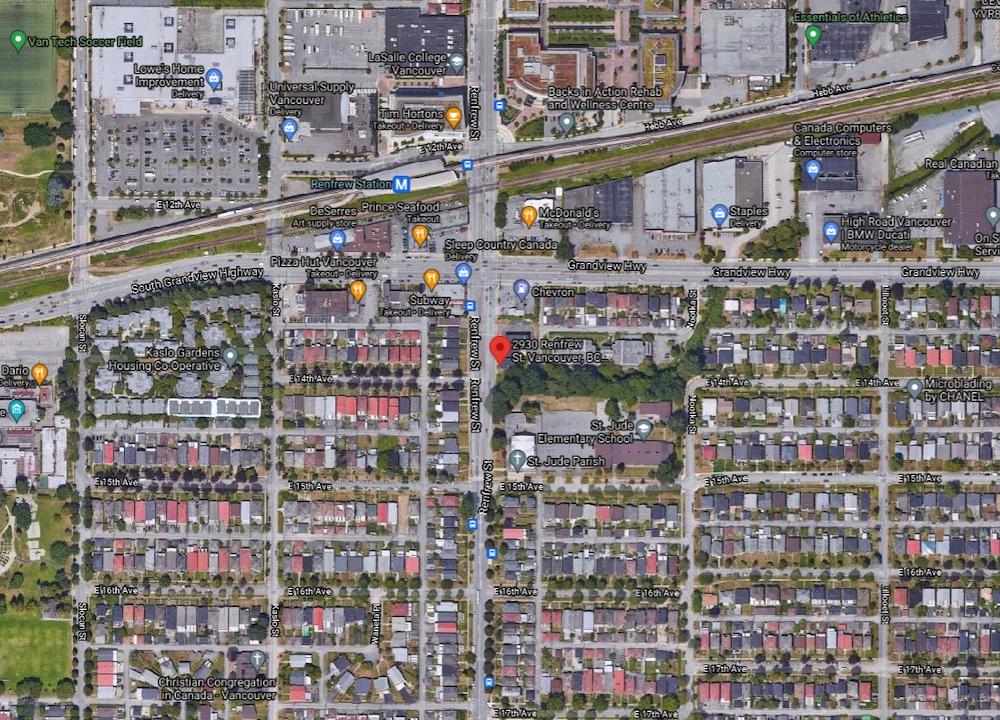 2930 renfrew street vancouver supportive housing