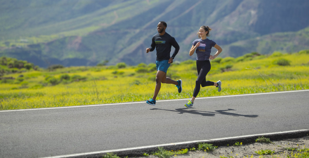 North American fitness brand launches its first carbon-neutral running shoe