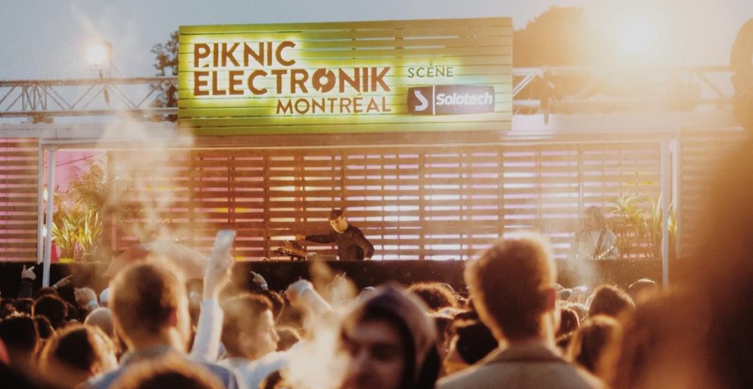 Weekly music festival Piknic Électronik returning to Montreal this summer