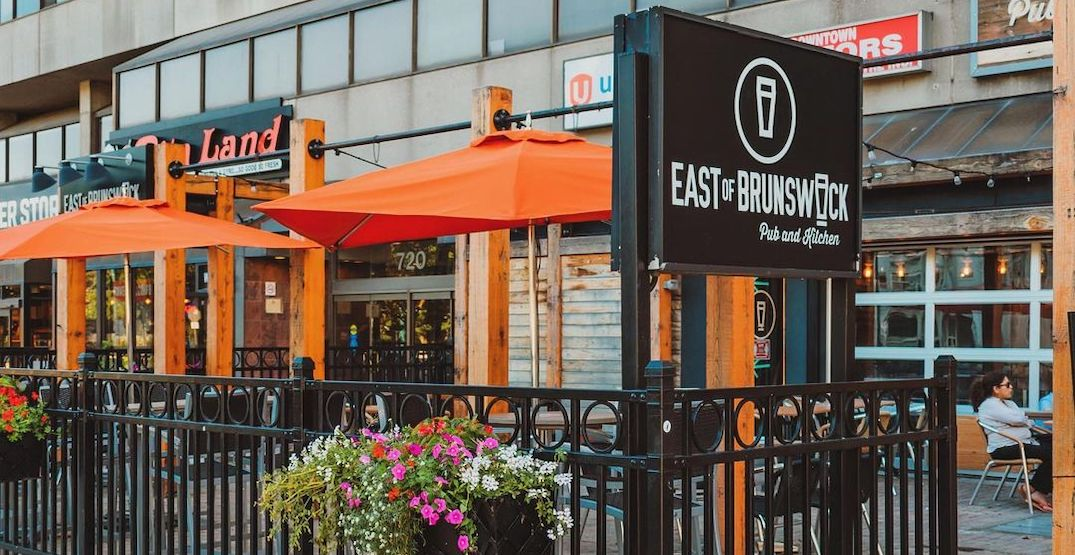 This Toronto patio is giving away free pizza to celebrate its reopening