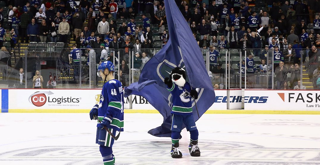 Canucks announce new partnership with City of Abbotsford