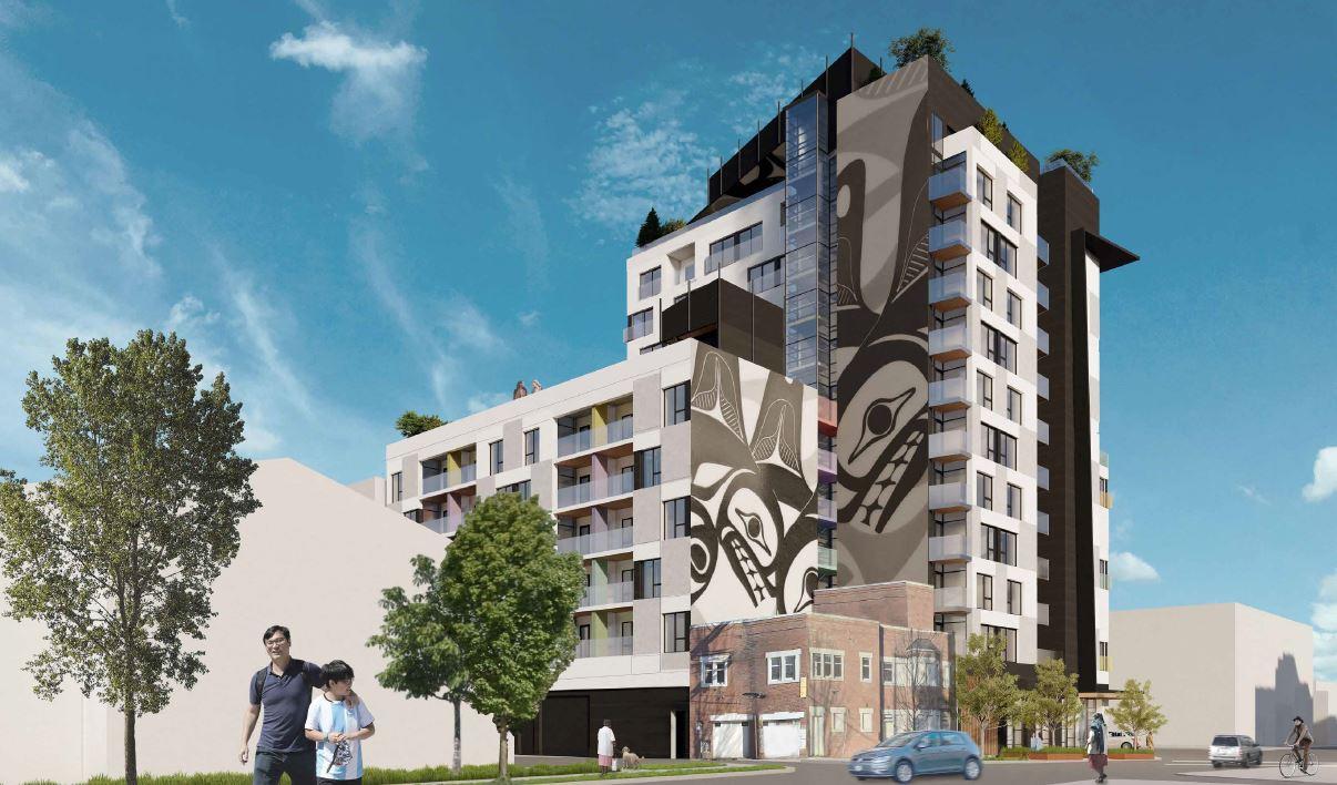 401 jackson avenue vancouver social housing