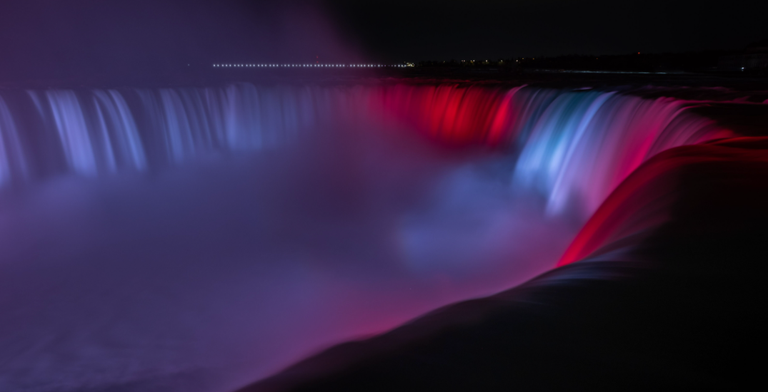 Niagara Falls will be illuminated for Canada Day and in solidarity with Indigenous communities