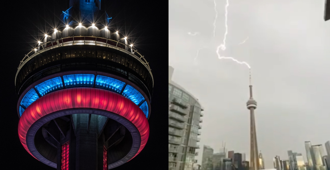 Fans accuse CN Tower of hopping off Canadiens Stanley Cup bandwagon