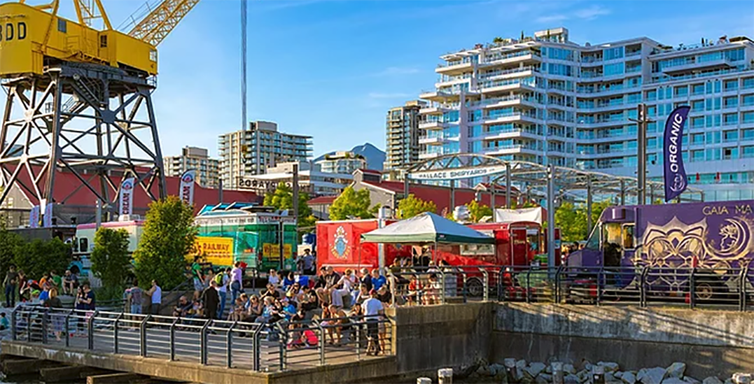 North Vancouver's Shipyards Night Market will not return this summer