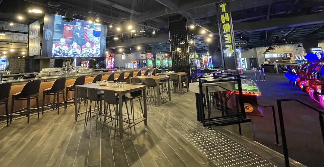 The Rec Room at The Amazing Brentwood is open in Burnaby