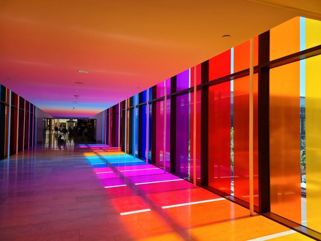 aura the amazing brentwood rainbow bridge