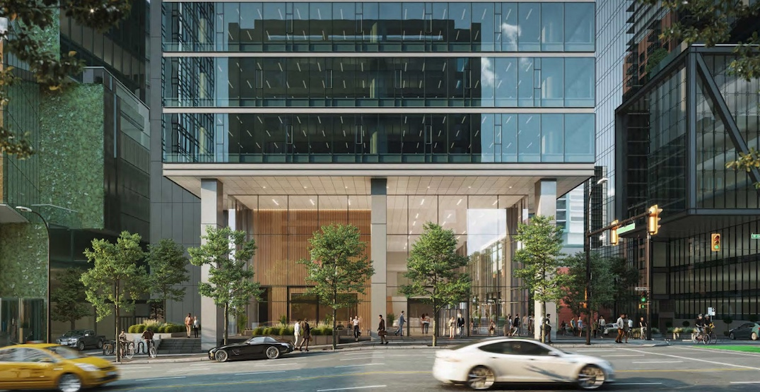 23-storey office tower in downtown approved by Vancouver City Council