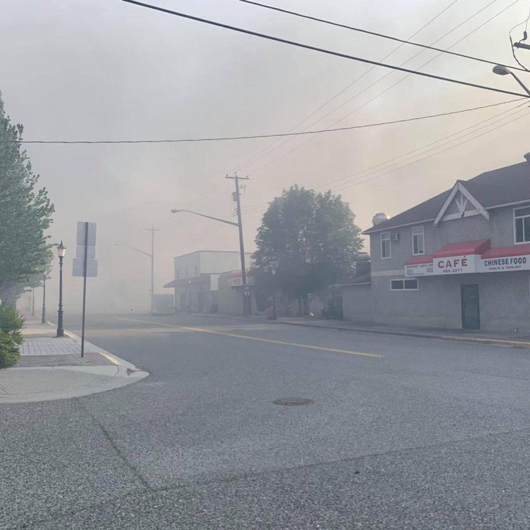 lytton bc wildfire june 30 2021