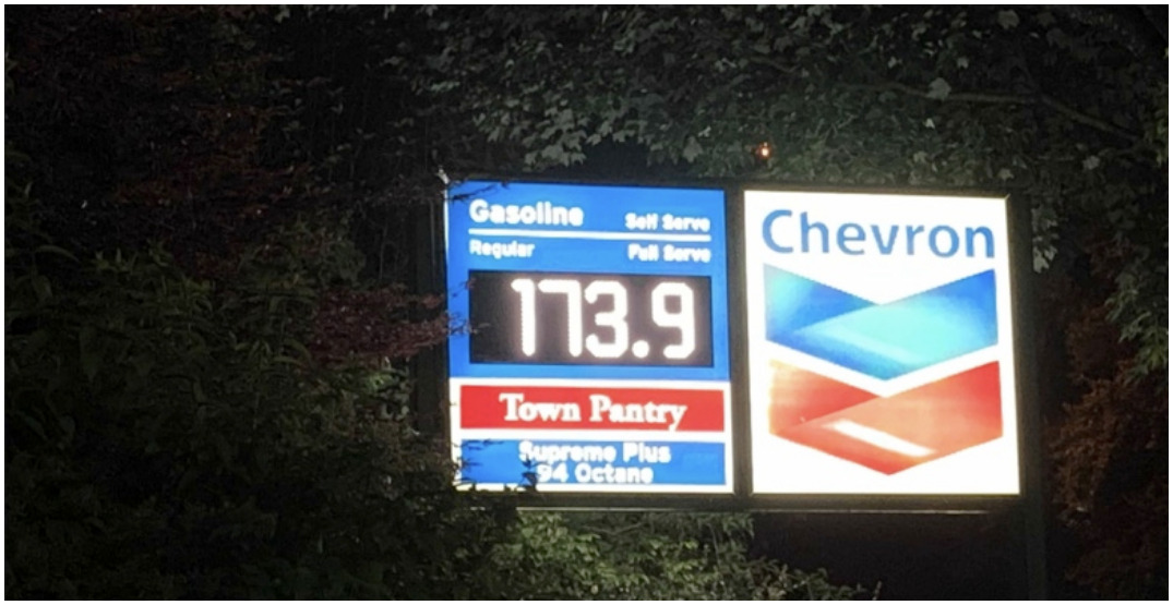 All-time record for gas prices in North America officially broken