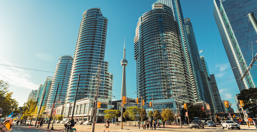 The price of three-bedroom condos in Toronto is closing in on $1 million