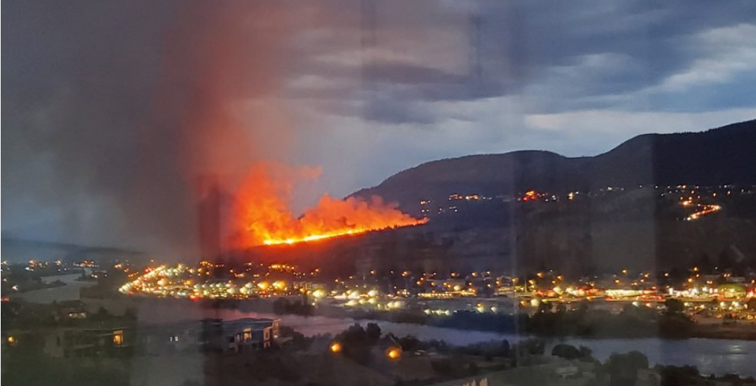 """Kamloops residents evacuated over """"significant"""" wildfire (PHOTOS)"""