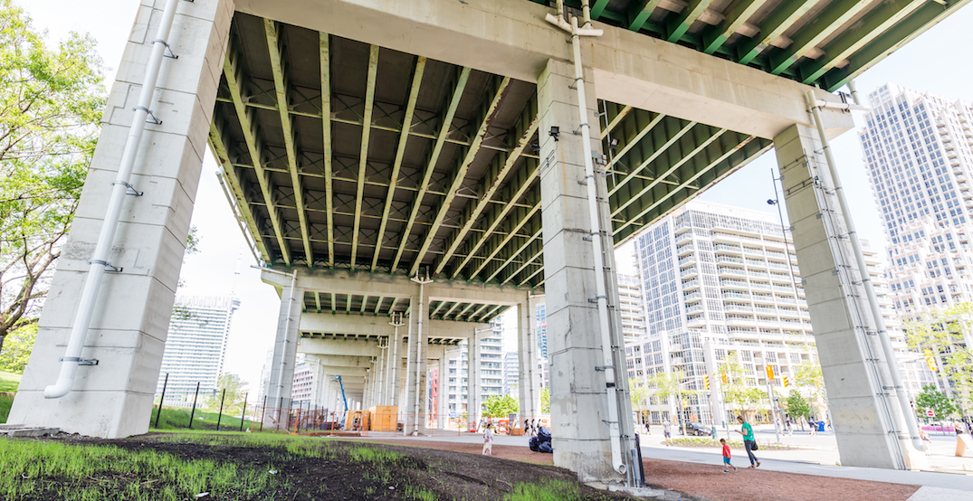 Another area under the Gardiner is about to be totally transformed
