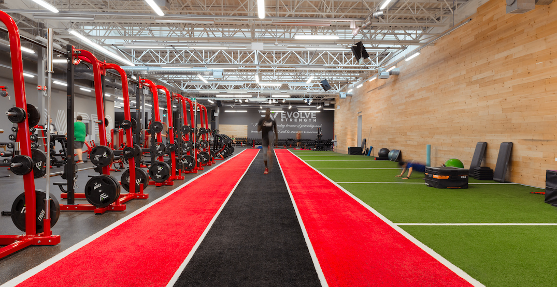 evolve edmonton downtown fitness gym