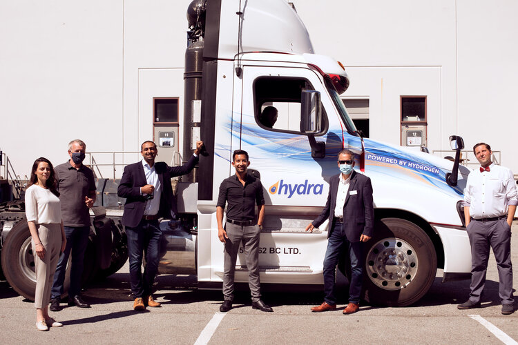 hydra energy hydrogen truck
