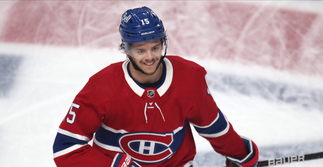 Jesperi Kotkaniemi appears to be scratched for the Canadiens tonight