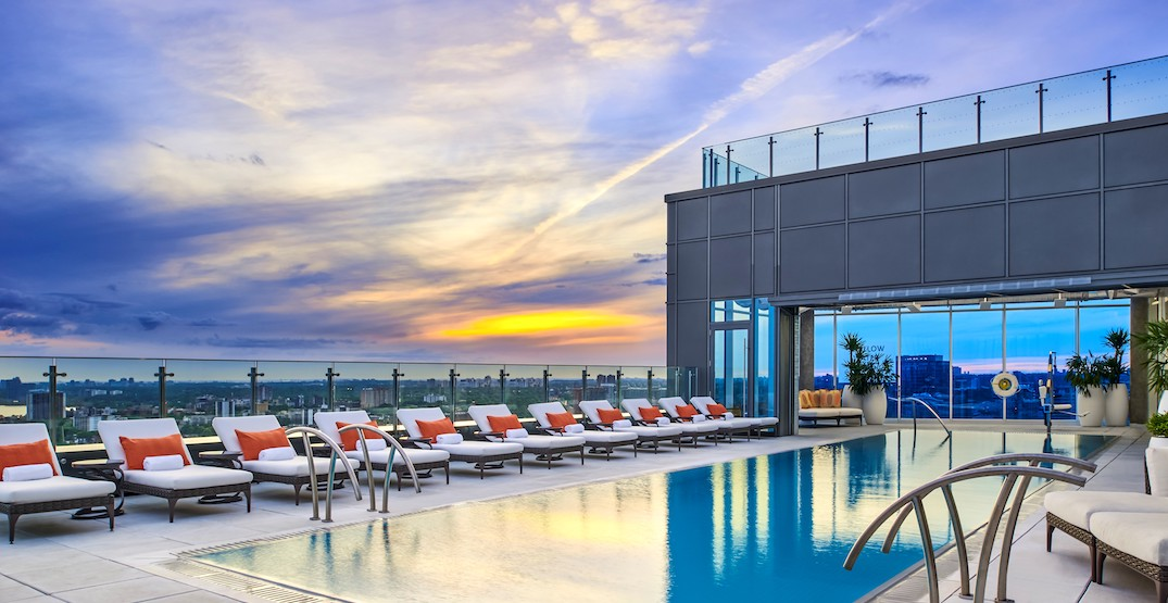 Experience the ultimate summer vibes at Toronto's Hotel X rooftop patio