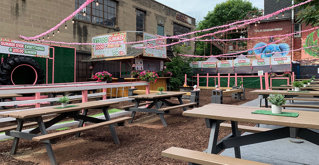 Pop-up picnic garden serving delicious cocktails coming to Toronto