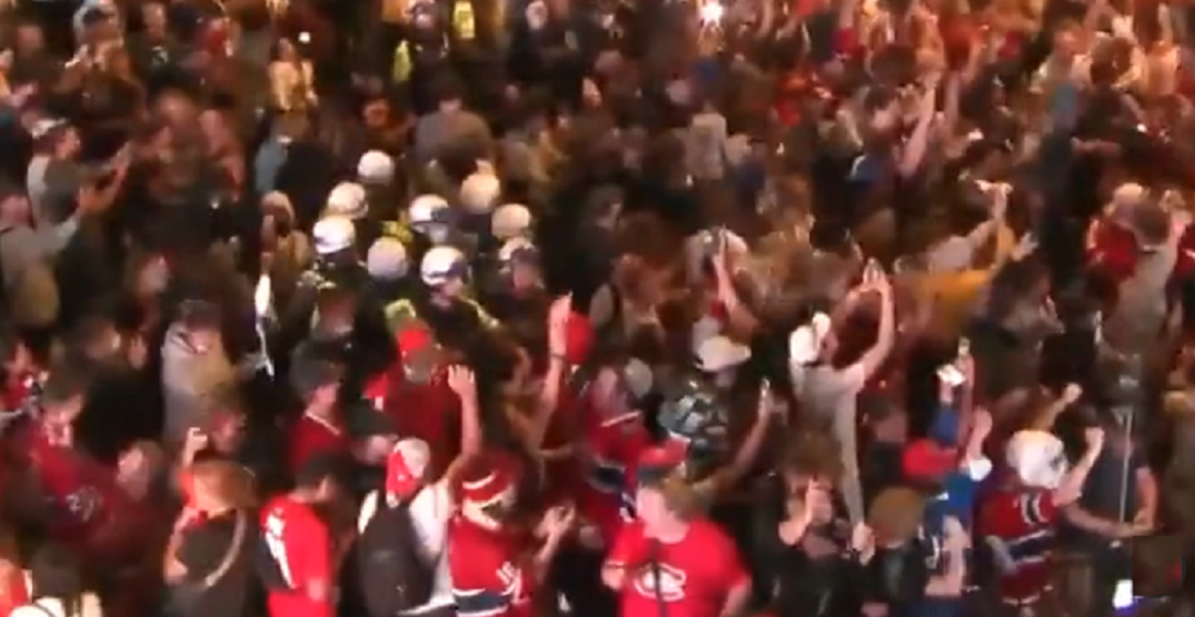 Canadiens fans go wild after Josh Anderson's Game 4 overtime goal (VIDEO)