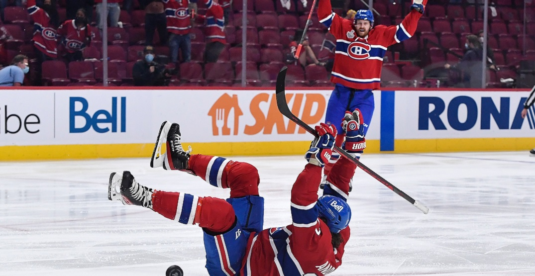 Josh Anderson says Canadiens packed bags to Tampa before Game 4