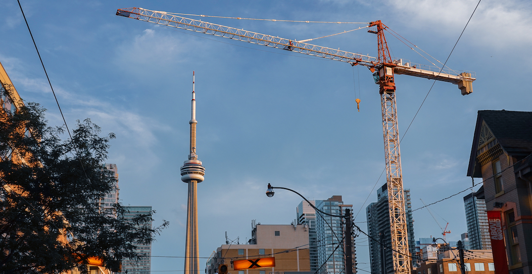 Toronto has more cranes than any city in North America
