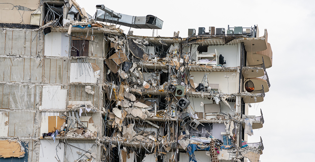 Remains of one Canadian found in collapsed Miami condo