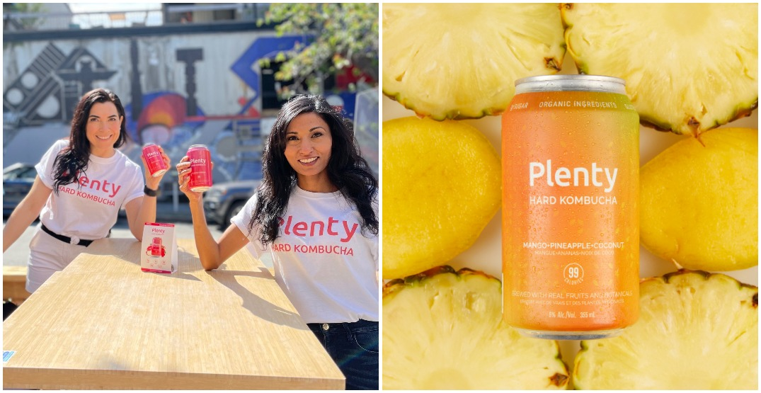 Vancouver duo launches Canada's first hard kombucha company