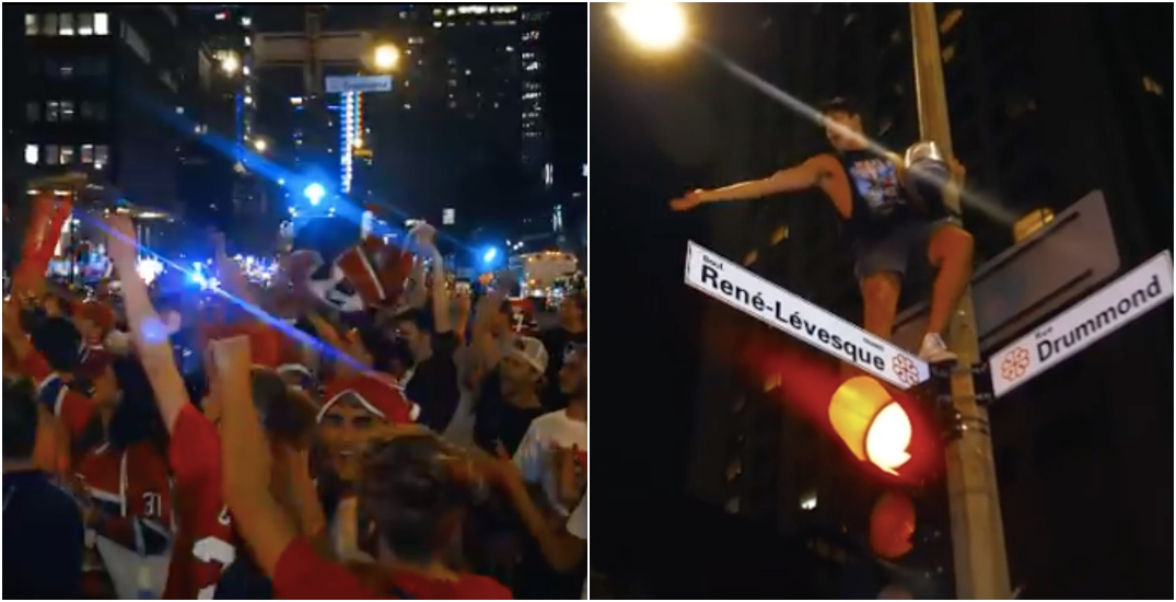 Here's what it was like outside of the Bell Centre last night (VIDEO)