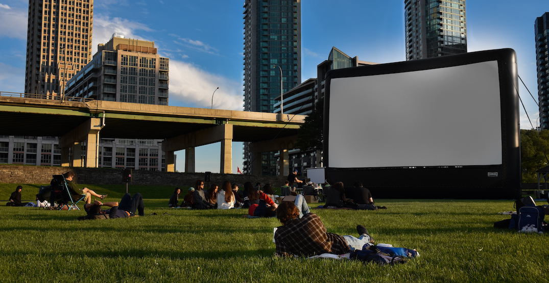 Here's when you can watch movies under the stars in Toronto