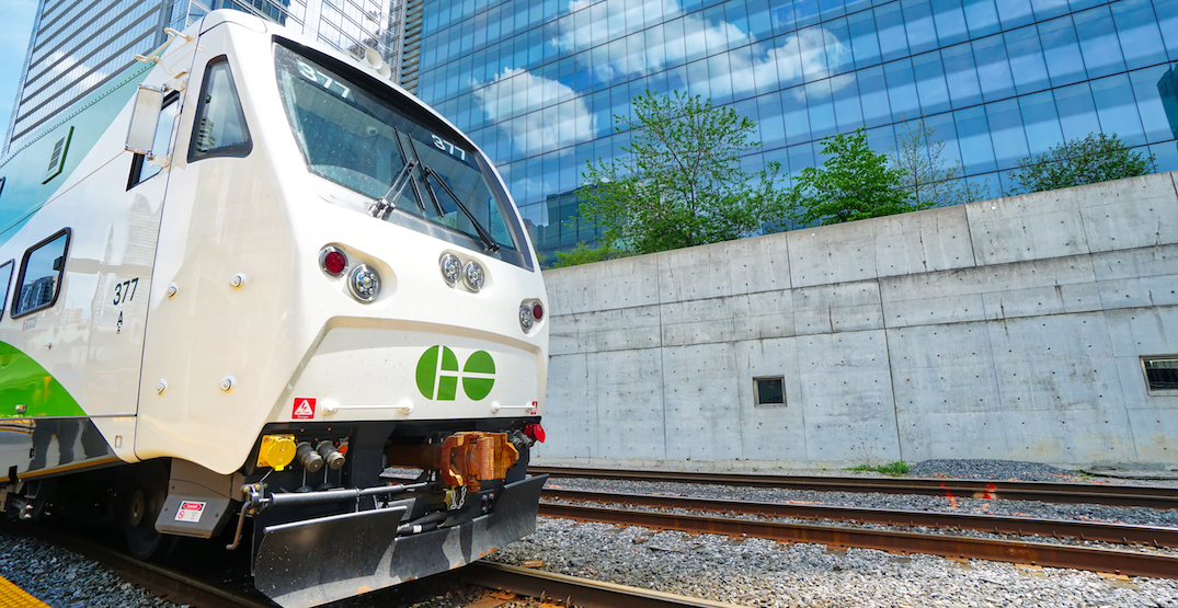 You can now get unlimited rides on GO Transit all weekend long for $15