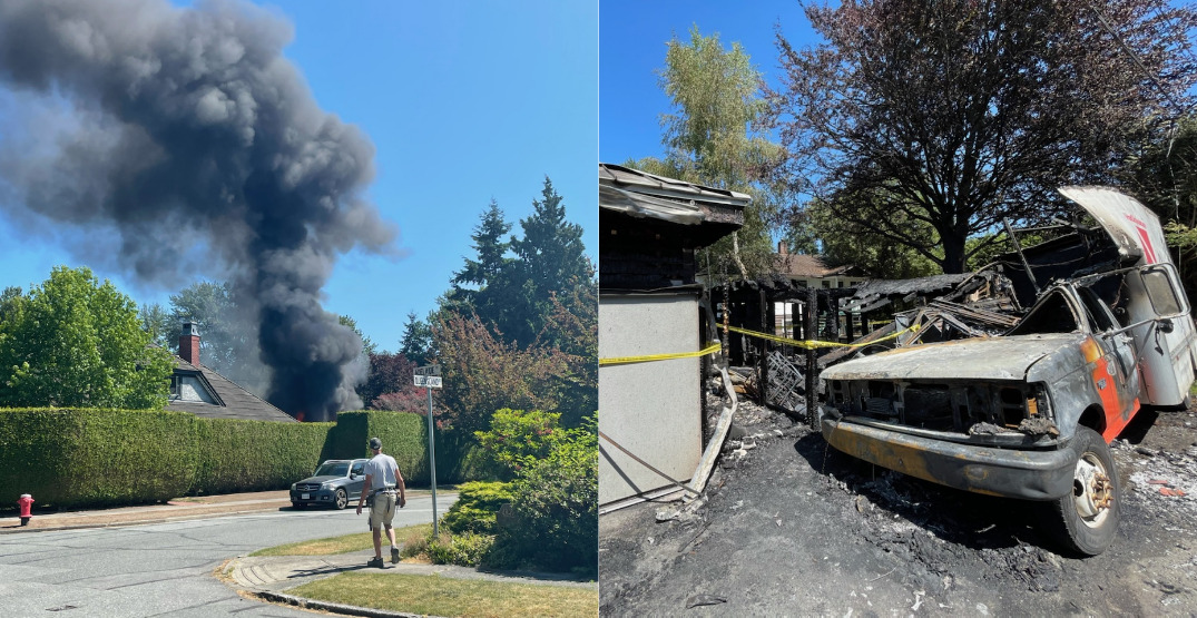 """Explosive fire breaks out at """"Harry Potter's closet"""" Airbnb near UBC (PHOTOS)"""