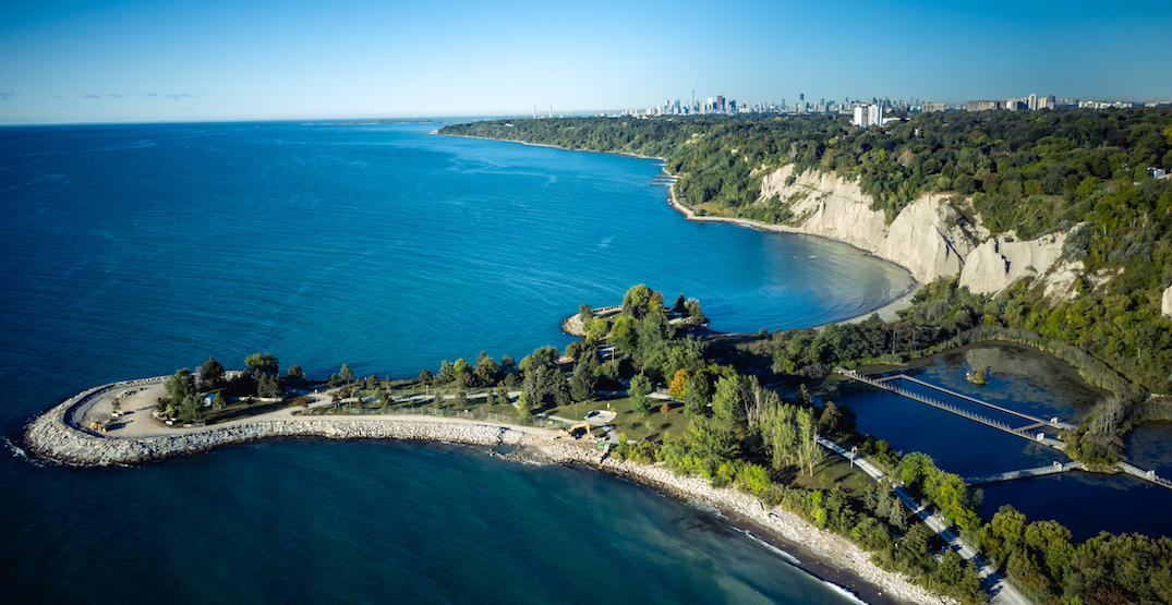You can now take a TTC bus right to the Scarborough Bluffs