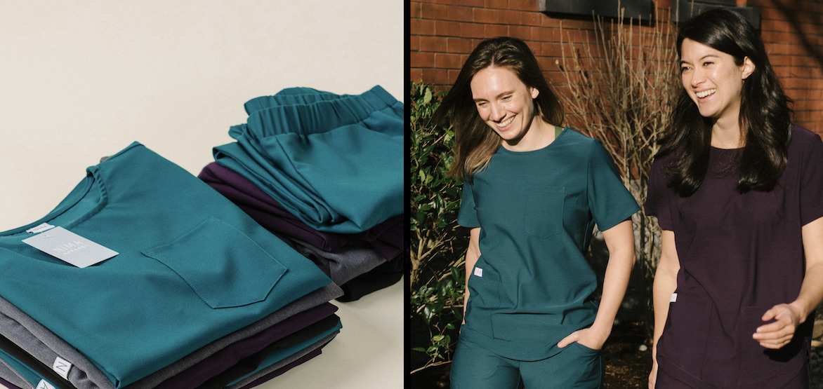 Women-owned business is making stylish scrubs for healthcare workers