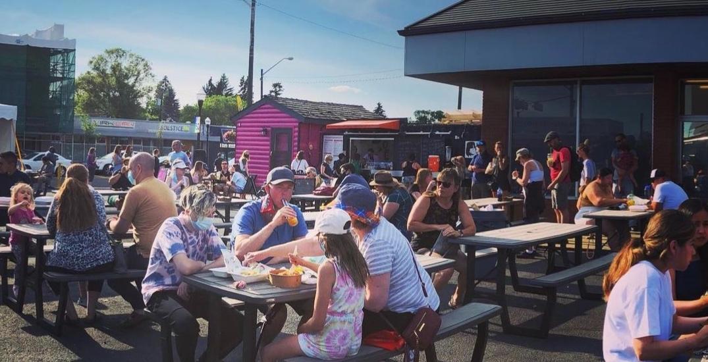 This Edmonton spot has different food trucks every week
