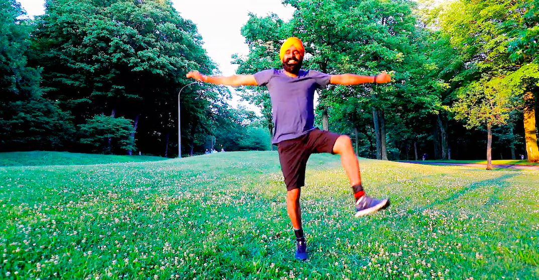 Viral Bhangra phenomenon shares dance moves from Mount Royal (VIDEO)
