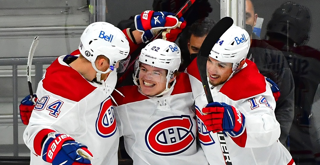 Canadiens' Caufield says teammate Corey Perry was favourite player growing up