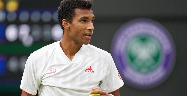 Canadian Félix Auger-Aliassime knocked out of Wimbledon